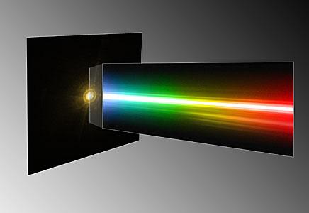 Spectrum of the planet around HR 8799