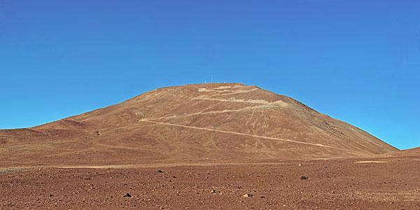 Cerro Armazones - site of the future E-ELT