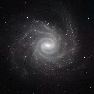 HAWK-I image of NGC 1232