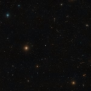 Wide-field view of the field around NGC 7252: the Atoms-for-Peace galaxy