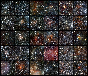 VISTA Finds Star Clusters Galore