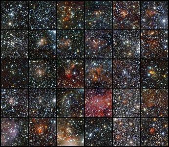 VISTA Finds Star Clusters Galore