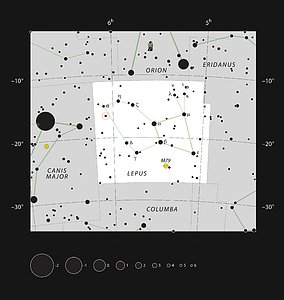 A unusual double star in the constellation of Lepus