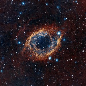 VISTA's look at the Helix Nebula