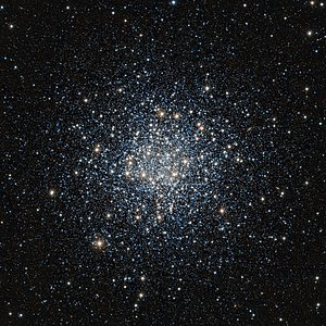 VISTA infrared image of the globular star cluster Messier 55
