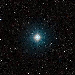 Wide-field view of the parent star of the famous exoplanet Tau Boötis b