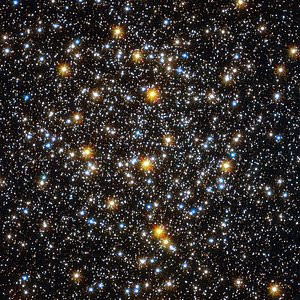 Hubble image of the globular star cluster NGC 6362