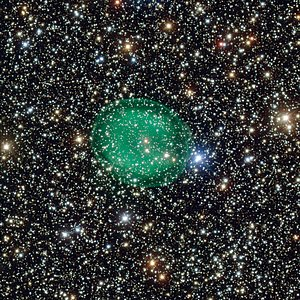 Imagem da nebulosa planetária IC 1295 obtida pelo VLT do ESO