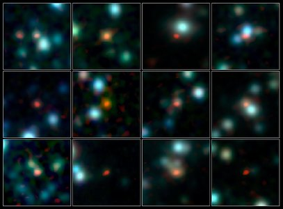 ALMA localiza de forma precisa galáxias primordiais