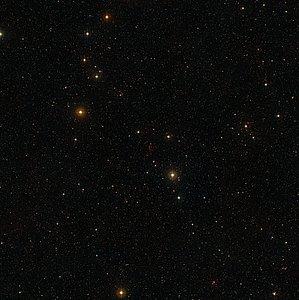 The sky around the quasar QSO J2246-6015