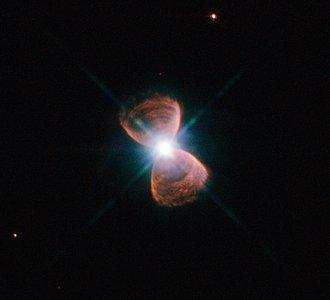 Bipolar planetary nebula Hubble 12