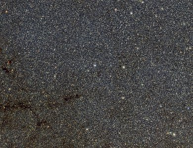 Part of the VVV view of the bulge of the Milky Way from ESO's VISTA