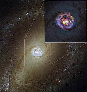 The nearby active galaxy NGC 1433 from ALMA and Hubble