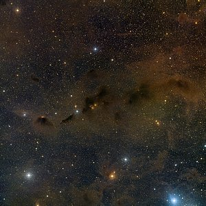 Wide-field view of part of the Taurus star formation region