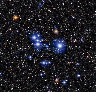 O enxame estelar Messier 47