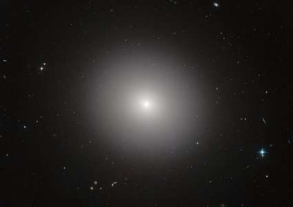 Elliptical galaxy IC 2006