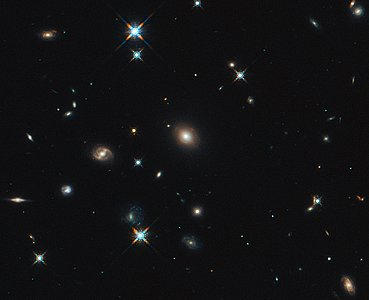 Hubble image of the region around SDP.81