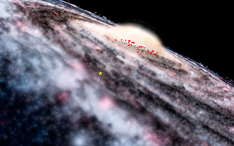 VISTA finds hidden feature of Milky Way