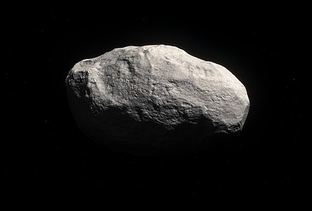 Artist's impression of the unique rocky comet C/2014 S3 (PANSTARRS)
