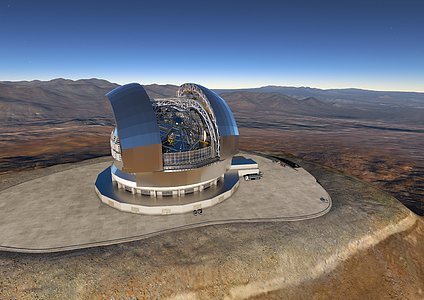 ESO Signs Largest Ever Ground-based Astronomy Contract for E-ELT Dome and Telescope Structure