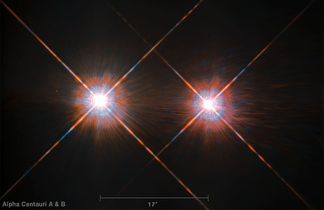 The double star Alpha Centauri AB