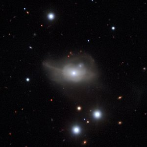 The active galaxy Markarian 1018