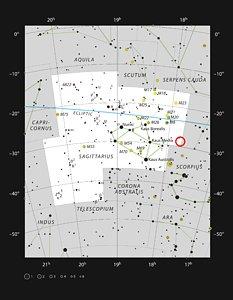 RR Lyrae stars in the constellation of Sagittarius