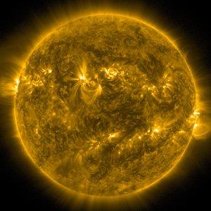 Full disk of the Sun