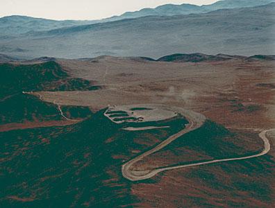 Aerial Photo of Cerro Paranal