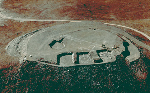 Aerial Photo of Cerro Paranal
