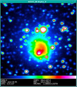 "An ""International"" Comet Hale-Bopp Image"
