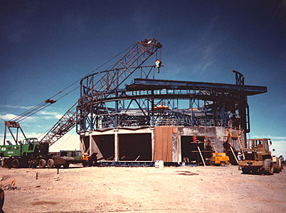 Construction of VLT UT1 Enclosure