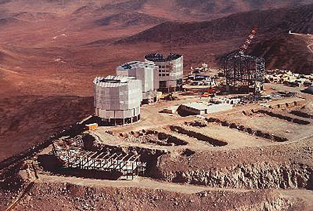 VLT Observatory on Cerro Paranal
