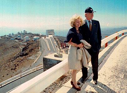 The Bavarian Prime Minister and Mrs. Karin Stoiber