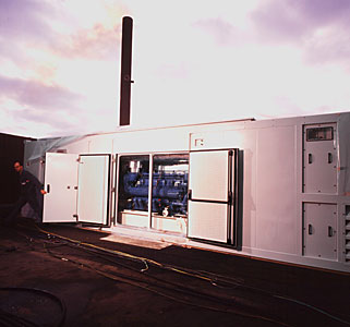 A Power-generating Set for VLT