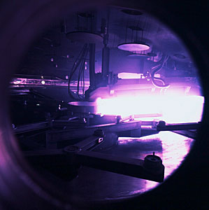 Giant Coating Plant for the VLT: a Porthole View