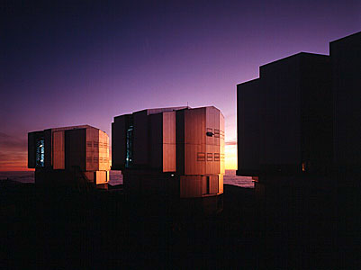 UT Enclosures in the Evening Light