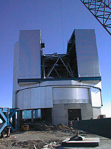 Unit Telescope 1 in its Enclosure