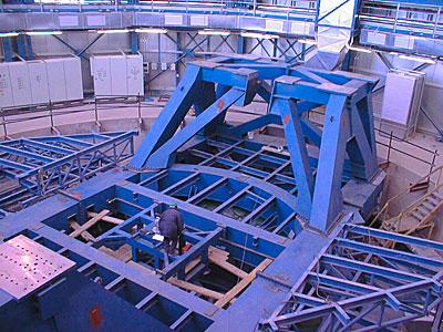 VLT UT1 Telescope Structure