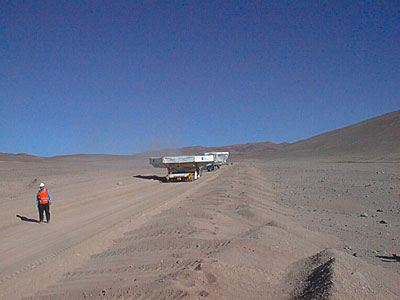 In the Atacama Desert