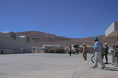 The Convoy Arrives at the Base Camp