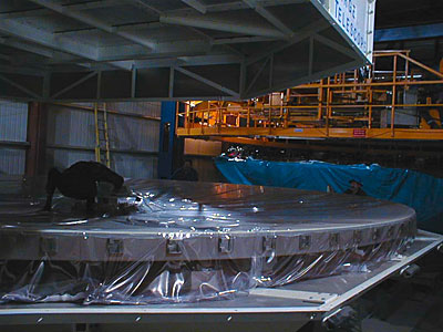 VLT 8.2-m Zerodur Mirror Inspection