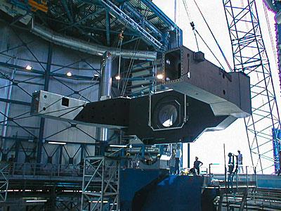 Construction of VLT UT2
