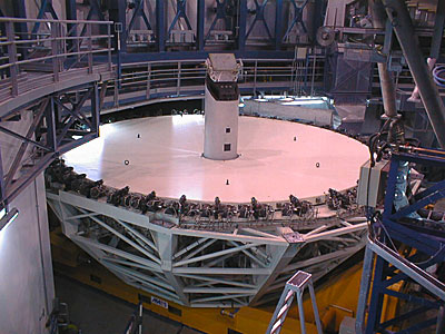 Installation of the M1 cell and mirror