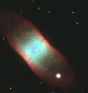 """The VLT Images a """"Rectangular"""" Planetary Nebula"""