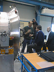Portuguese Minister of Science at Paranal