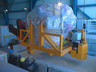 First Major Astronomical Instrument Mounted on VLT