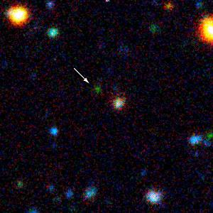 Distant Galaxy EIS 107 (z=3.92)