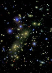 Cluster of Galaxies-1ESO657-55