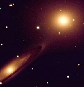 Interacting Galaxies NGC 5090